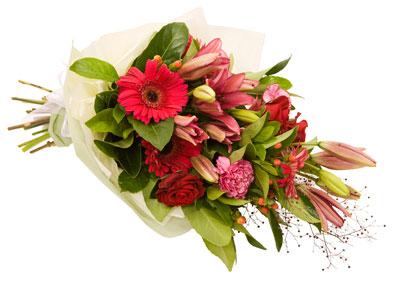 Karışık çiçek buketi ürün kodu 1849 fiyat 60 tl kdv